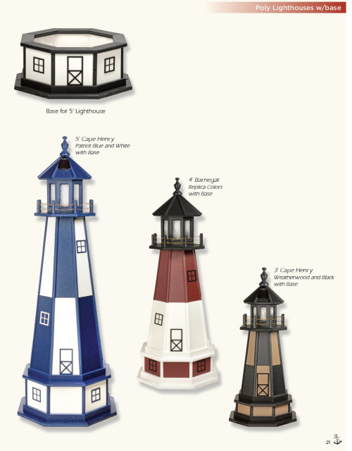 Lighthouse Bases