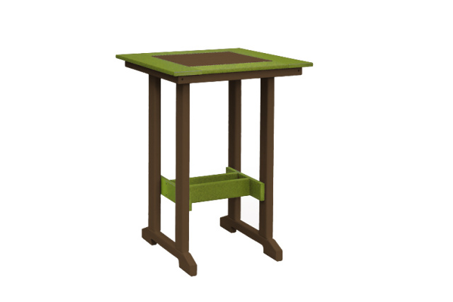 "29 1/4"" Square Bar Table (39"" height)"