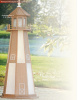 Premium Woodgrain Poly Lighthouse