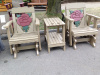 Rose Deluxe Settee Glider